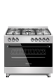 Hisense 90cm Gas Electric Stai Nless Steel Stove Hfs905ges