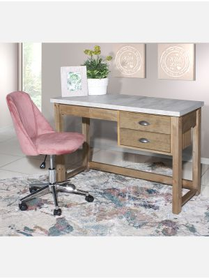 Royal Concrete 2 Drawer Desk