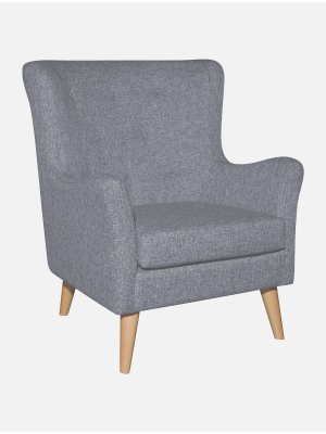 Oxford Occasional Chair Grey