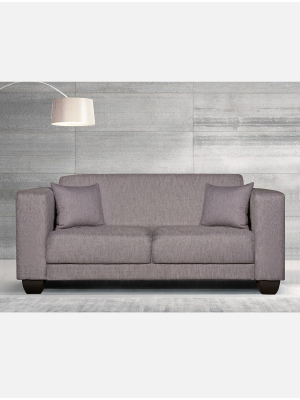 Tango 2.5 Division Taupe Fabric Couch