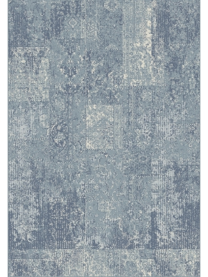 Silky Blue/grey 84387 133x190 Rug