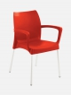 Sapphire Patio Armchair Red