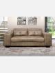 Concord 3 Divison Fabric Bobmer Tan Couch *g*