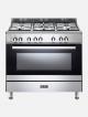 Elba 90cm Stainless Steel 5 Burner/electric Oven 9cx827n