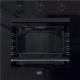 Defy 600e Black Glass Eye Level Oven Dbo483