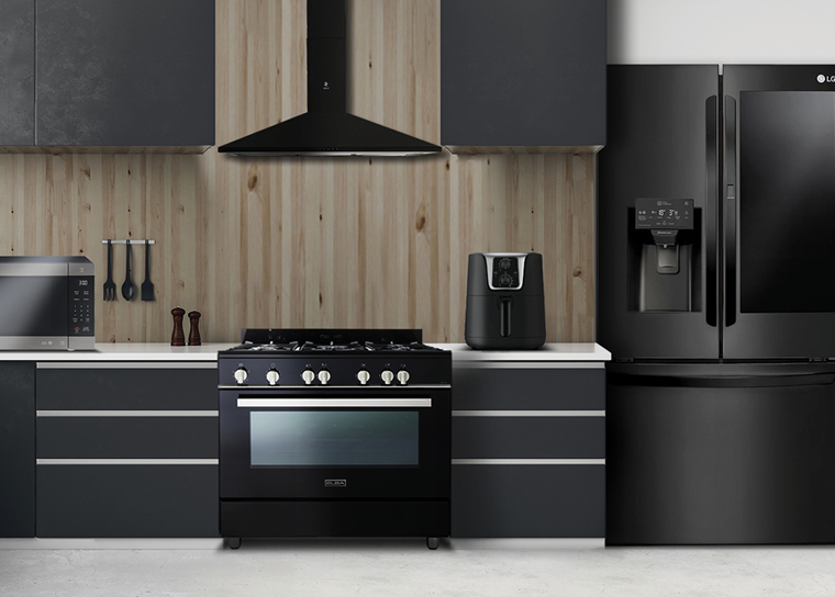 Be Tempted To Go Dark With Stunning Black Kitchen Appliances